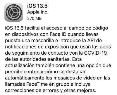 """Imagen - """"El iPhone se desbloquea usando mascarilla"""", ¿es cierto?"""