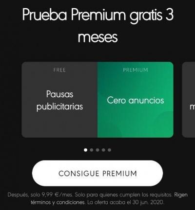 Imagen - Spotify Premium 3 meses gratis: vuelve la promoción