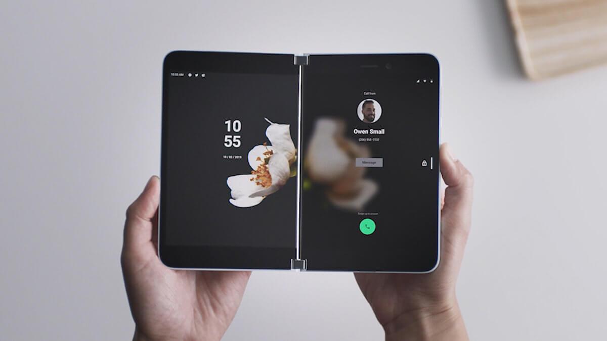 Surface Duo es oficial: el móvil Android con doble pantalla de Microsoft