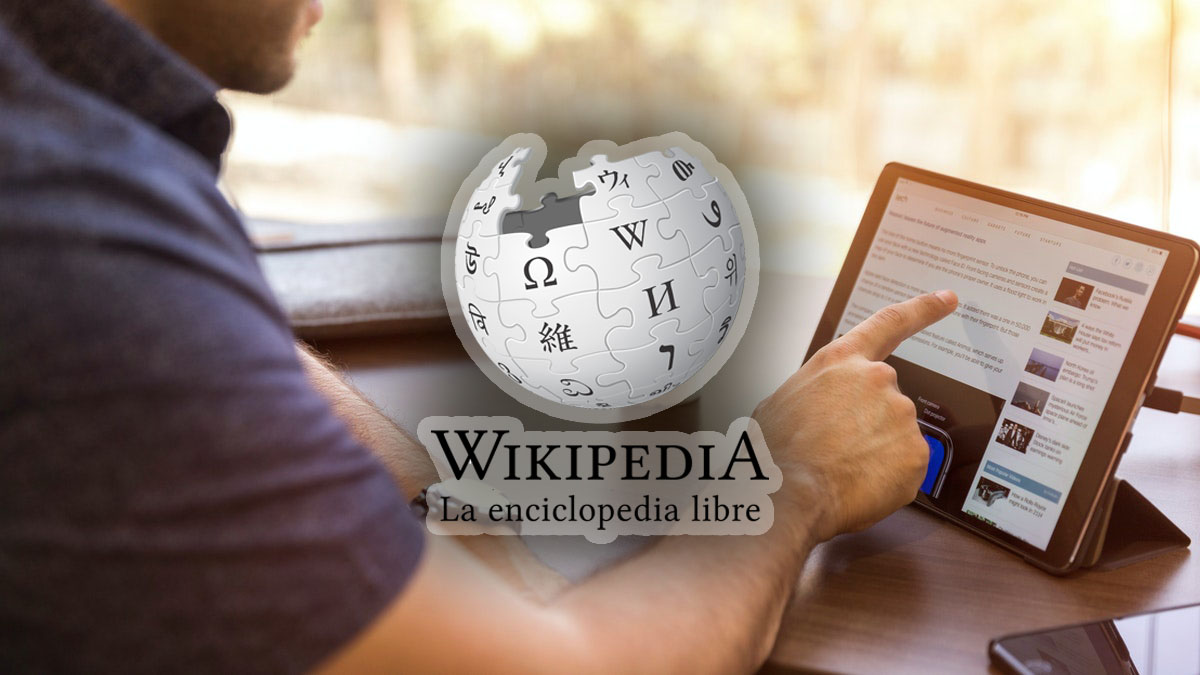 Así de fácil es editar la Wikipedia