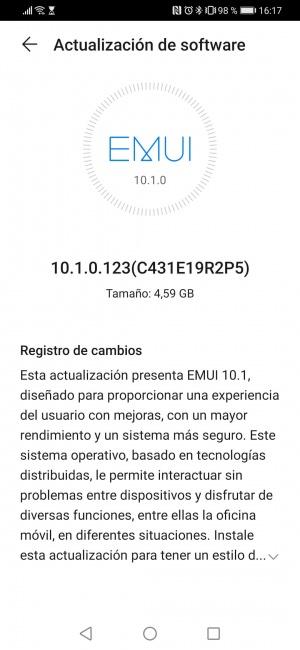 Imagen - EMUI 10.1 llega al Huawei P30 Pro