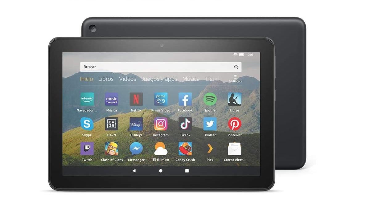 Fire HD 8 se renueva: la tablet de Amazon mejora el hardware y mantiene su precio de 100 €