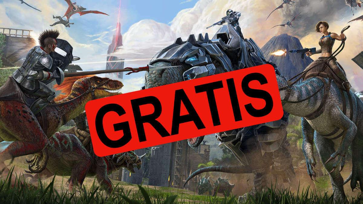 ¡Juegazo gratis! Consigue ya Ark: Survival Evolved en la Epic Games Store