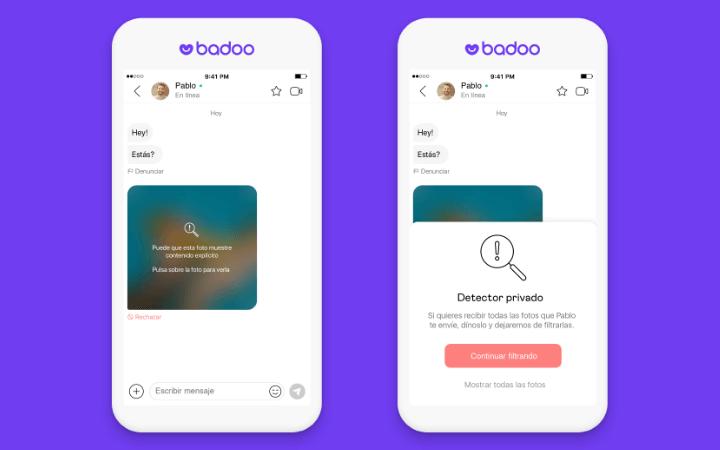 Imagen - Badoo añade un filtro contra nudes no solicitados