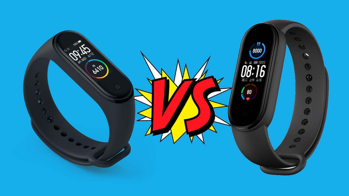 Xiaomi Mi Band 5 vs Mi Band 4, ¿cuál comprar?