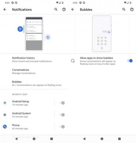 Imagen - Android 11 beta filtrado: estas son las novedades