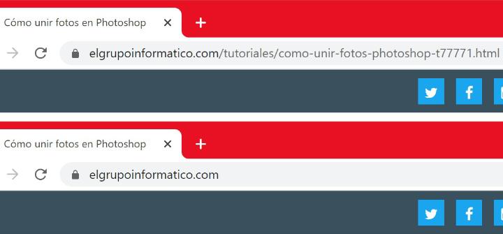 Imagen - Chrome 85 ocultará las URLs completas
