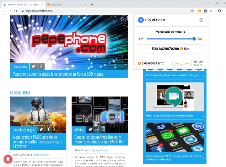 Imagen - CryptoTab Browser, qué es y ¿es fiable?