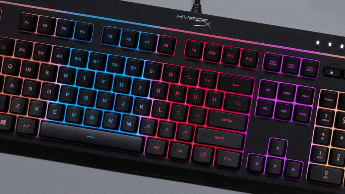 Alloy Core RGB, así es el teclado gaming de HyperX con iluminación LED