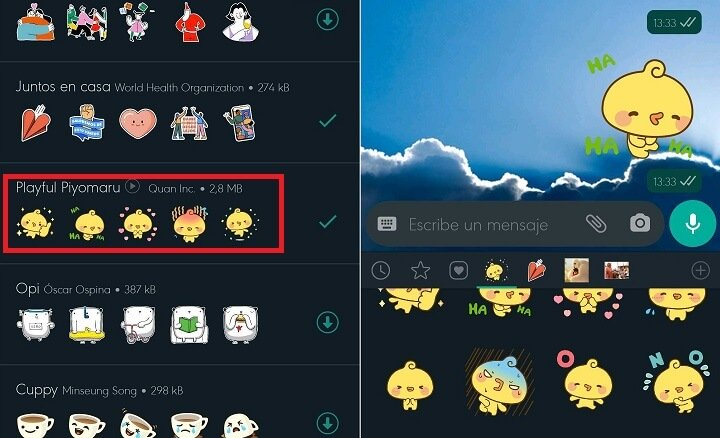 Imagen - Stickers animados de WhatsApp: pack ya disponible