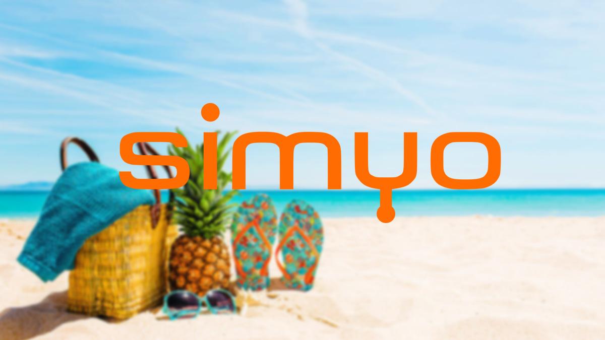 Simyo regala 30 GB para consumir durante el verano