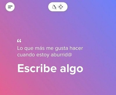 Imagen - Tinder Facts: info personal para completar tu perfil