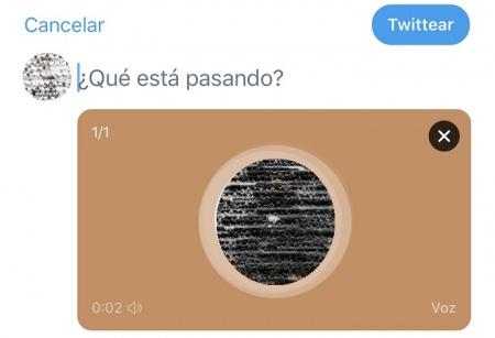 Imagen - Twitter añade notas de voz a los tweets