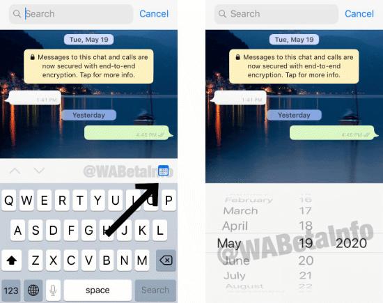 Imagen - WhatsApp te permitirá buscar por fecha