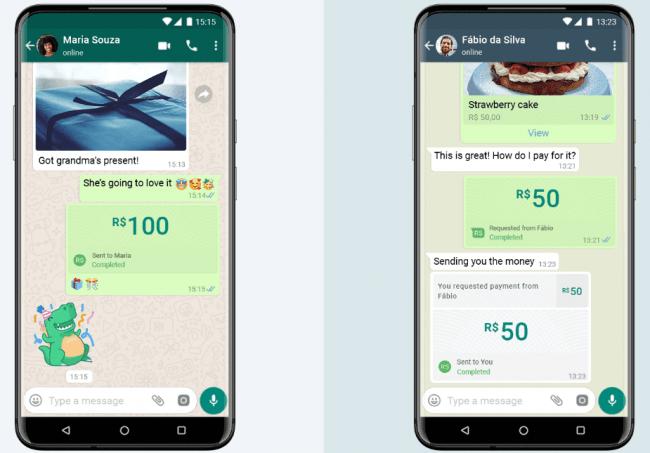 Imagen - WhatsApp Pay llega a Brasil