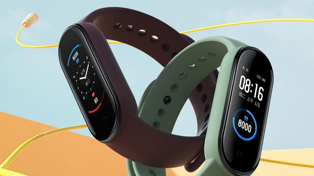 Xiaomi Mi Band 5: la nueva pulsera con NFC y carga magnética