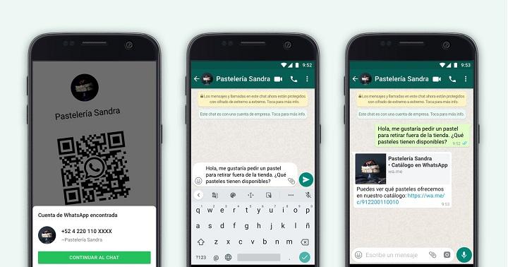 Imagen - WhatsApp Business añade QR para contactar con empresas