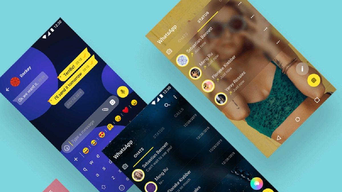 CoocooWhatsApp, un mod de WhatsApp temas visuales