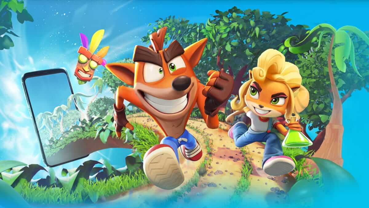 Crash Bandicoot: On the Run! será un juego para móviles de los creadores de Candy Crush