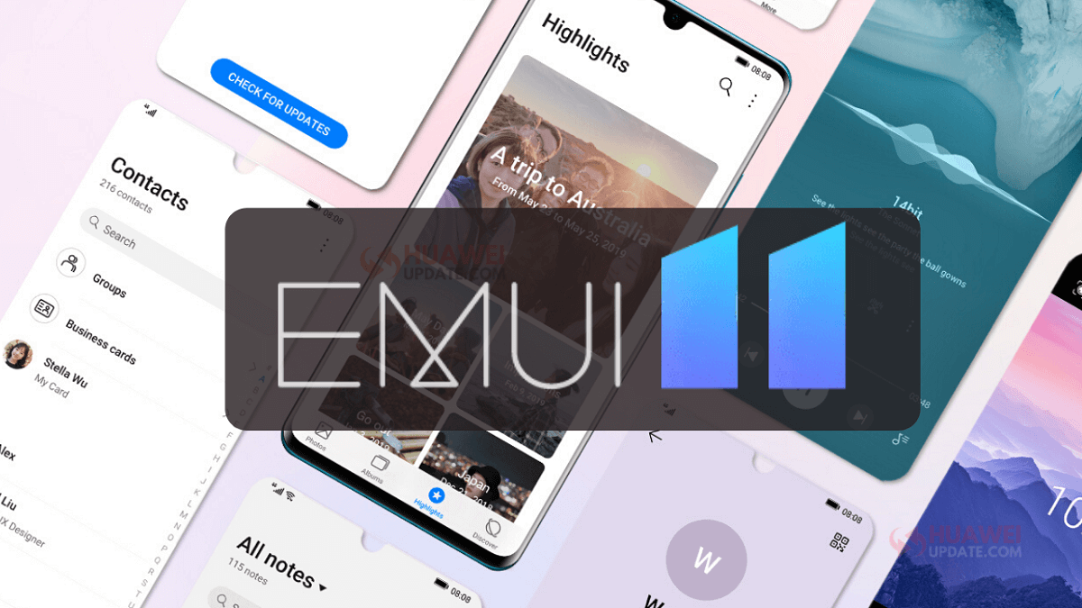 EMUI 11 llegará con los Huawei Mate 40 series