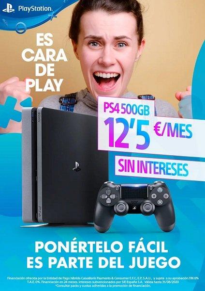 Imagen - PS4 financiada en 24 meses sin intereses