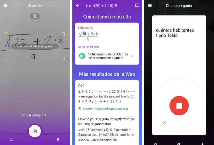 Imagen - Socratic, la app de Google que ayuda con los deberes