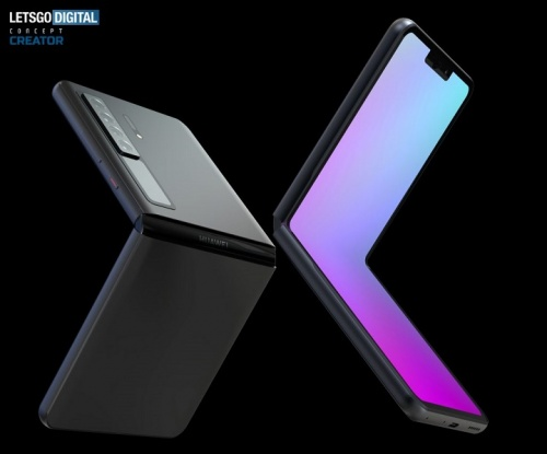 Imagen - Huawei Mate V: filtrado el teléfono tipo concha