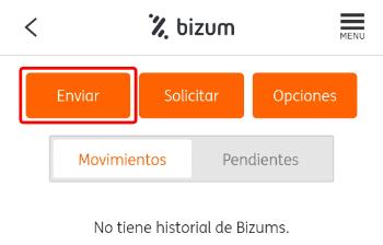 Imagen - Cómo enviar dinero por Bizum con ING