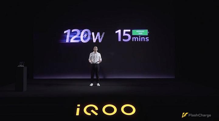 Imagen - Carga rápida a 120 W de Iqoo: 15 min para la carga completa
