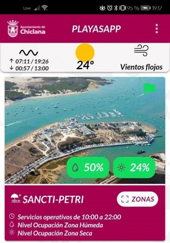 Imagen - PlayasApp, la app para controlar el aforo de las playas