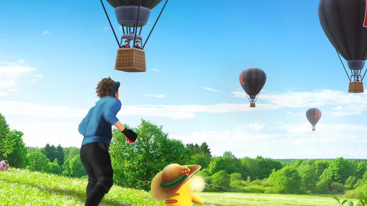 Pokémon Go recibe los globos del Team Go Rocket: así es esta nueva mecánica