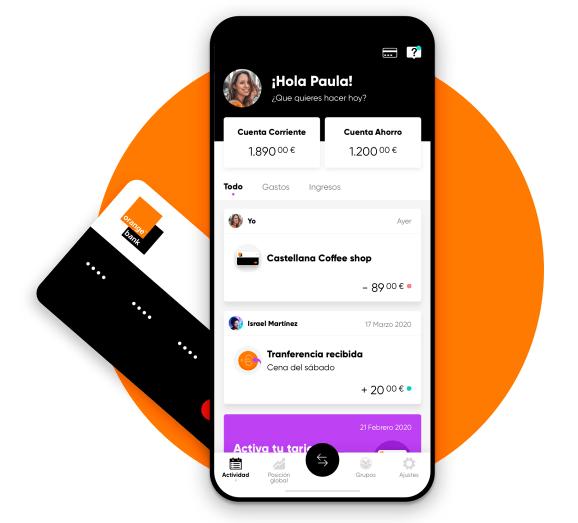 Imagen - Orange Bank: nueva tarjeta de débito digital