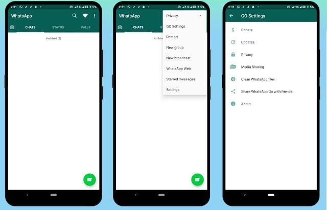 Imagen - WhatsApp GO, un mod de WhatsApp con más privacidad