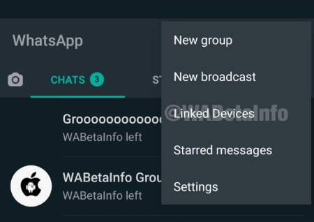 Imagen - WhatsApp en múltiples dispositivos: primeras capturas