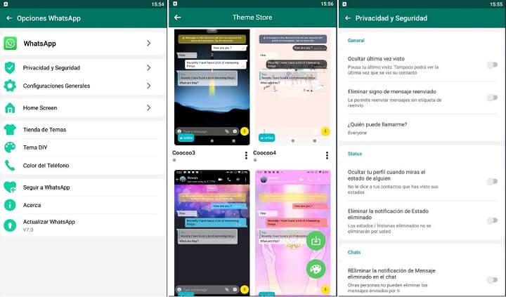Imagen - WhatsAppMA, personaliza la interfaz de WhatsApp con el mod
