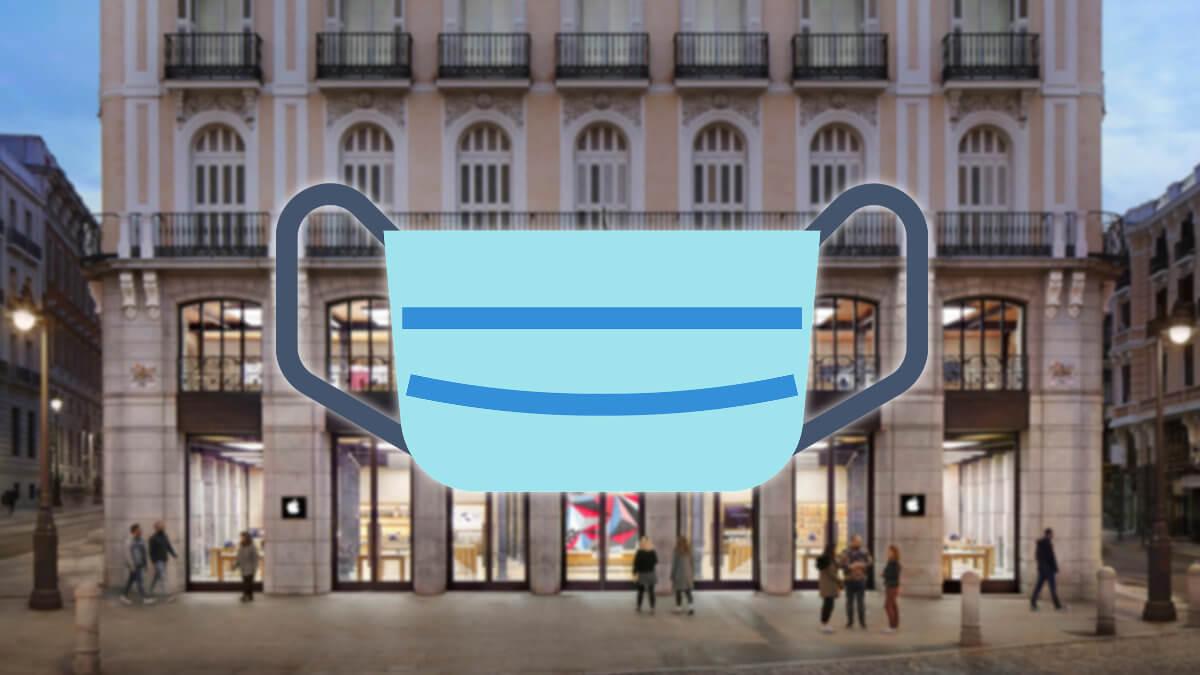 Apple cierra sus tiendas de Madrid por el coronavirus