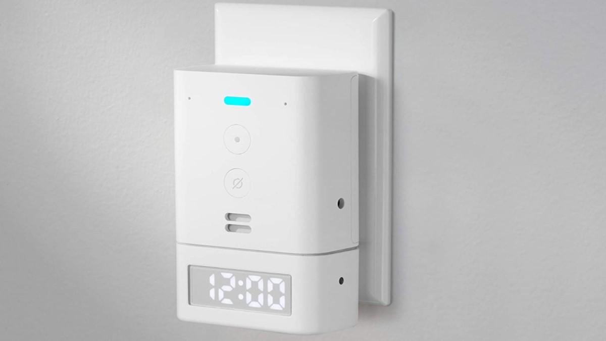 Convierte tu Amazon Echo Flex en un reloj con el accesorio Smart Clock por muy poco dinero