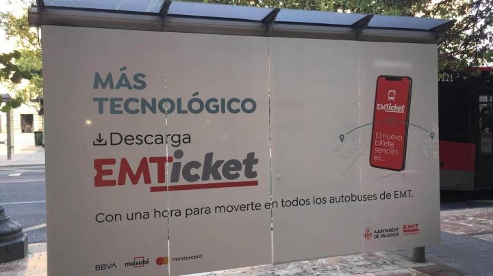 Imagen - Valencia ya permite pagar el transporte público con el móvil