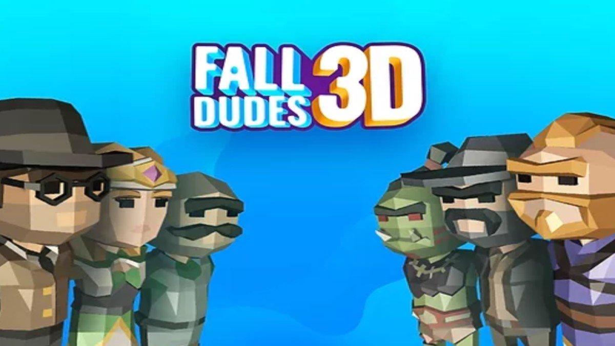 Prueba Fall Dudes 3D, una copia para Android del exitoso Fall Guys