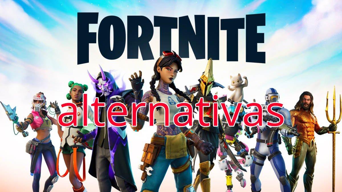 6 alternativas a Fortnite que no te puedes perder