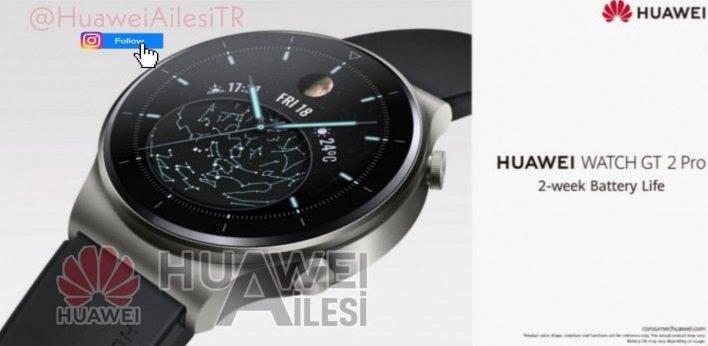 Imagen - Huawei Watch GT 2 Pro filtrado: descubre como será