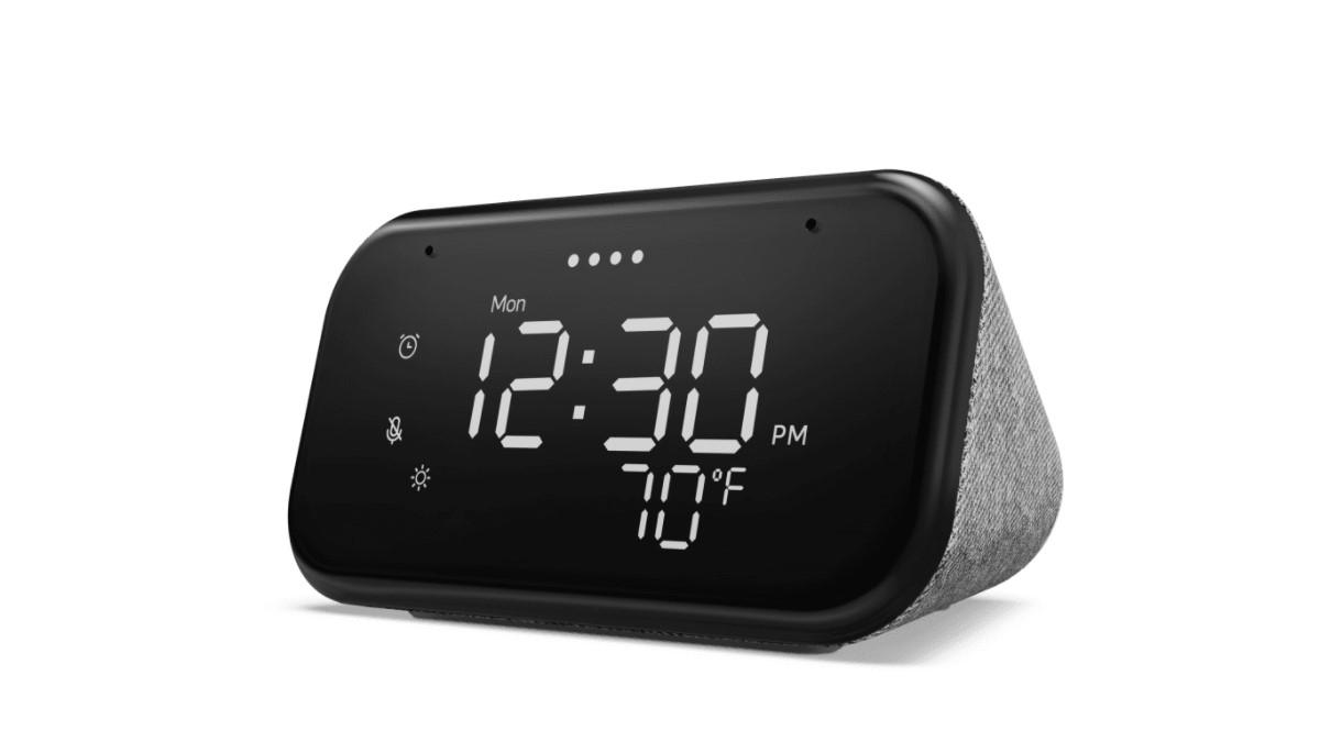Lenovo Smart Clock Essential: altavoz con Google Assistant y diseño de reloj despertador