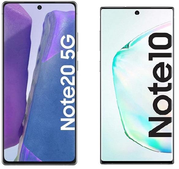 Imagen - Comparativa: Samsung Galaxy Note 20 vs Galaxy Note 10