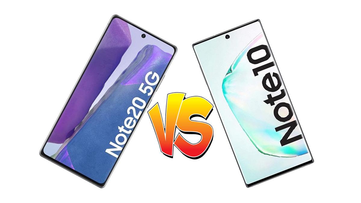 Samsung Galaxy Note 20 vs Galaxy Note 10, ¿cuál es mejor?