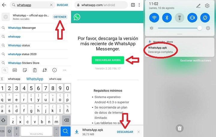 Imagen - Cómo instalar WhatsApp en el Huawei P40 Lite