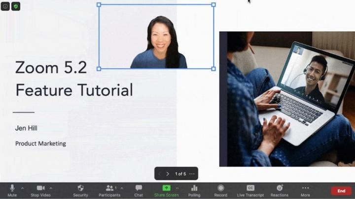 Imagen - Zoom añade filtros, iluminación y reacciones