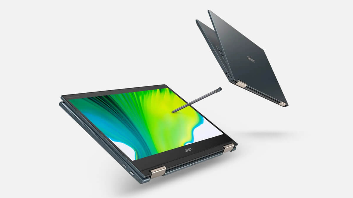 Acer actualiza su convertible Spin 7 con 5G y procesador Snapdragon 8cx Gen 2
