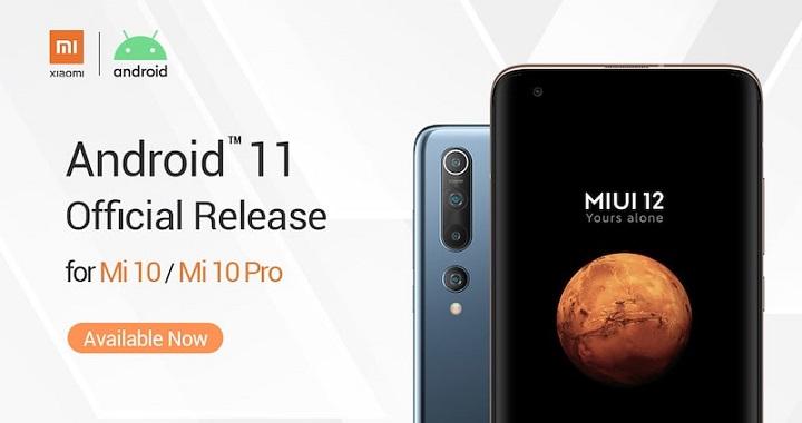 Imagen - Xiaomi Mi 10 y Mi 10 Pro tendrán Android 11 en breve