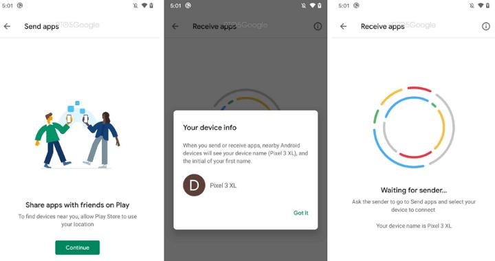 Imagen - Android permitirá compartir apps con usuarios cercanos
