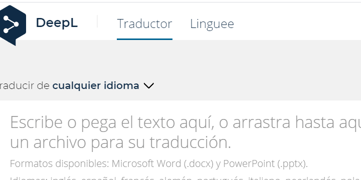 Imagen - DeepL, una alternativa a Google Traductor